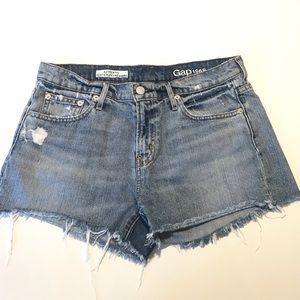 """GAP 1969 """"Best Girlfriend"""" Jeans Shorts 28"""